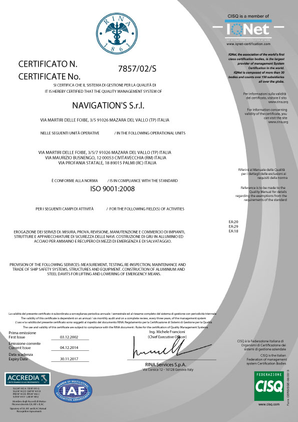 Certificato-RINA-ISO-9001-2008
